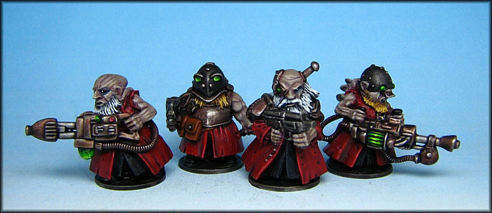 Psychic mutant Scrunties Painted by James McLardy