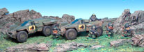 scrunts and Old Crow Vehicles and accessories painted by Bob Olley