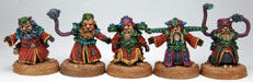 Psychic Scrunts Painted by Stephen Page AKA Cyano