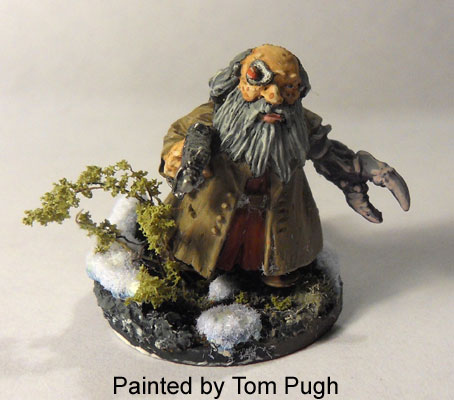 Psychic dwarf painted by Tom Pugh