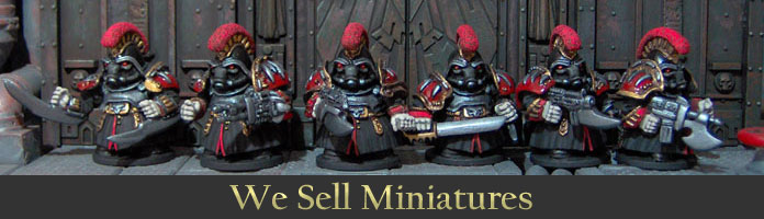 We Sell Miniatures