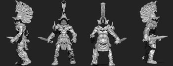 james olley concept artist, murmillo gladiator sculpt for olleysarmies
