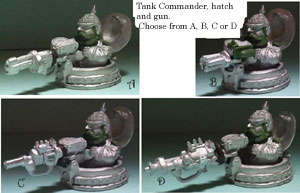 kickstarter two prussian tank commander and hatch