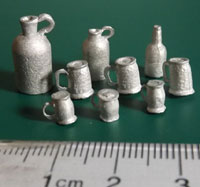 kickstarter two prussian tankards and beer mugs